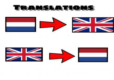 I will translate from English to Dutch and vice versa!