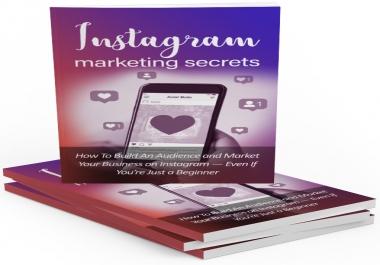 Instagram Marketing Secrets Video Upgrade