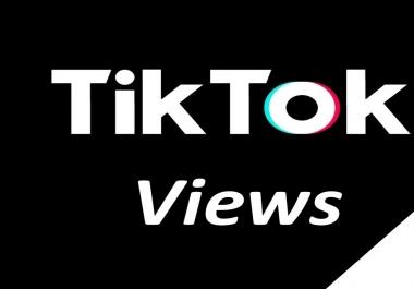 tiktok video Views Lifetime Guarantee And High Retention (Instant Start)
