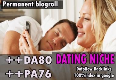 Give link da80x10 site Adult niche Permanent blogroll