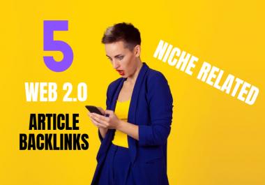 Do 5 Web2.0 Blog Backlinks for SEO