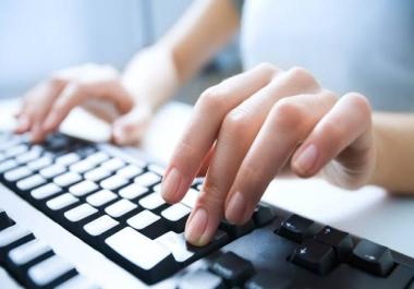 English and hindi typing and pdf conversion