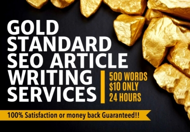 500+ Words UNIQUE Informative SEO Article Writing Services