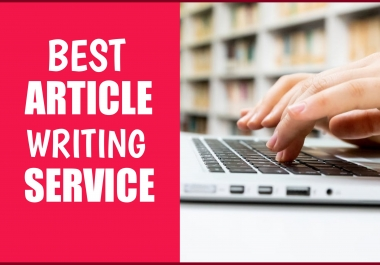 I Will Research and Write a 1000 Word SEO Article on Any Topic