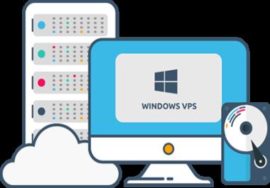 Windows VPS 2GB RAM , 40SSD , 1vCPU