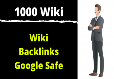 1000+ Wiki Mix Backlinks Cheap Price Limited Time Offer