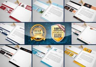 I will do logo, business card, letterhead & envelop