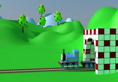 i will create low poly models for games and animation