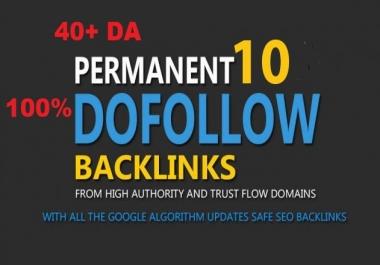 I Do Manually 10 High Quality Best Ranking Pr8, Pr9 Dofollow Links