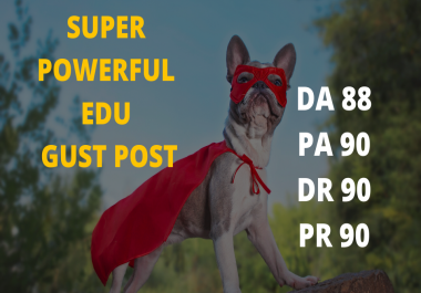Strong EDU guest post index within 1 day