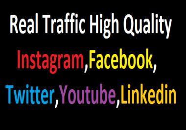Send +100,000 Website Worldwide Traffic Instagram,Facebook,twitter,YouTube,Tracking Link Online