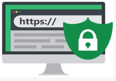 I will setup cloudflare and configure ssl to make website to green lock status