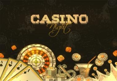 15 permanent NICHE RELEVANT DA 55+ PBN Backlinks Casino, Gambling, Poker, Judi Related websites