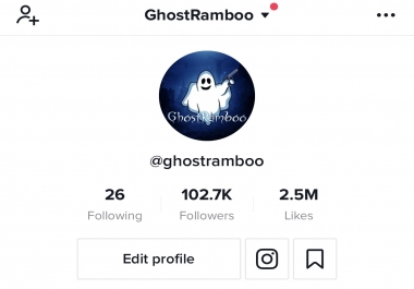 I Will Promote Your Account On My 100K+ TikTok Account!