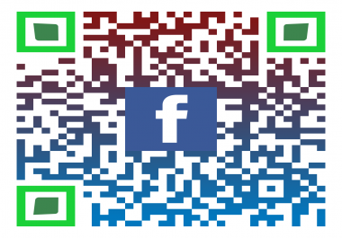 I can create personalised QR codes for all your social media accounts