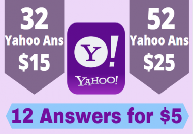 promote your website in 12 yahoo answers