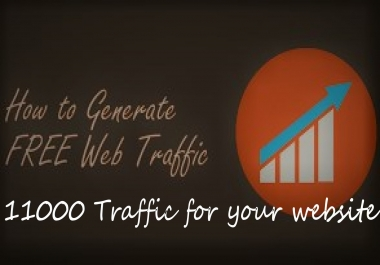 11,000 Human Website Traffic From Google,twitter and instagram Web Visitors to your website