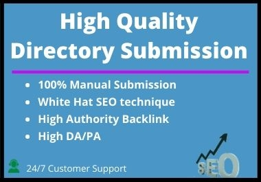 I Will Do Manually 50 Directory Submission