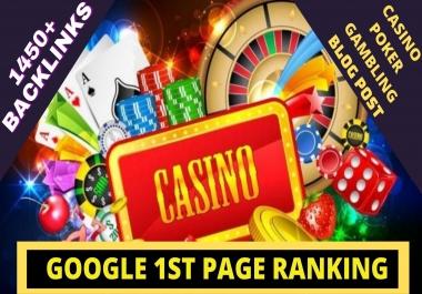 BEST 1450+ CASINO/POKER/Gambling/Sports Betting/judi bola Pbn Backlinks online casino unique site