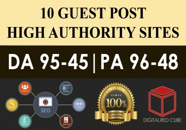 Buy 2 Get 1 Free Write And Publish 10 GUEST POST ON high DA PA SITES