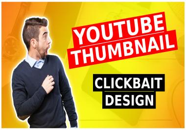 Youtube Catchy and Amazing Thumbnail Design