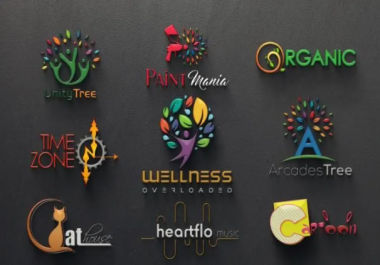 (3-4 Concepts) EYE CATCHY LOGO DESIGN in 24hrs