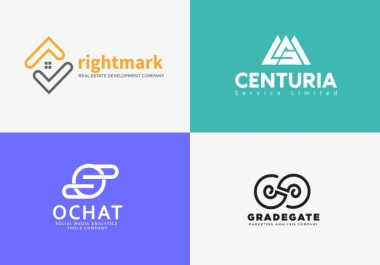 (3-4 Concepts) MINIMALISTIC and UNIQUE logo creator and designer IN 24hrs
