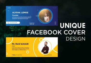 I will create Facebook cover design, Twitter, Linkedin, Youtube banner, ads header