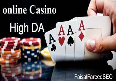 Get 150 DA 50-40+ high quality casino,Gambling and betting sites.
