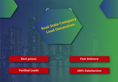 I will Provide USA Based 30 Verified Real Estate Leads