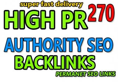 I Create 270 HQ profile backlinks manually for website seo.