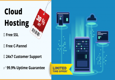 Get a cloud hosting at best price with free cpanel