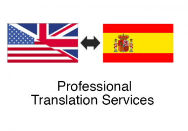 I will provide a perfect english to spanish translation