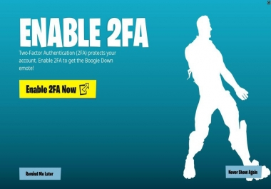 How to Enable Epic Games and Fortnite 2FA (Two-Factor Authentication) – Epic Games Support