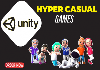 I will create attractive hyper casual games for IOS and android