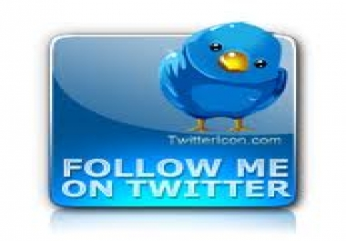 provide you 100 + Real Locking Twitter Followers, 100% S... for $1