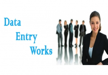 will Complete Your Data Entry OR Copy-Paste Project