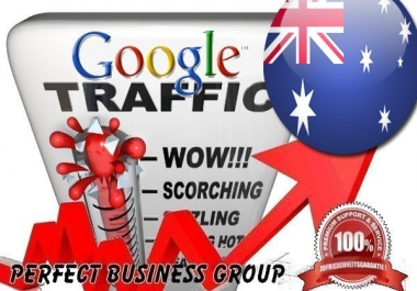 send 1000 visitors via Google.com.au by Keyword to your website