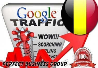 I send 1000 visitors via Google.be by Keyword to your website