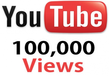 Provide you 100,000+ YOUTUBE SAFE Views + 25 Likes Guaranteed within 72hrs - 96 hrs