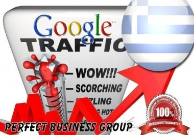 Organic traffic from Google.gr (Greece) with your Keyword