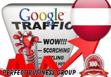 I send 1000 visitors via Google.at Keyword to your website