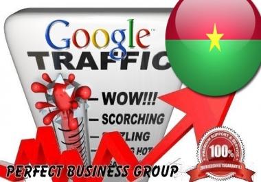 I send 1000 visitors via Google.bf Keyword to your website