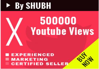 [Working] Add 500000 Youtube Views [100k/day speed]