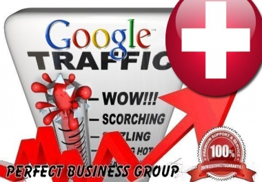 Organic traffic from Google.ch (Switzerland) with your Keyword