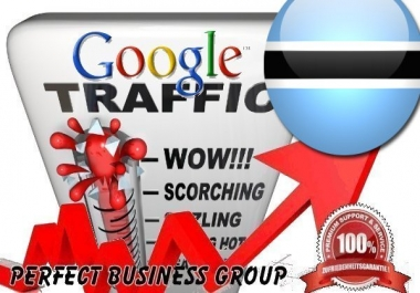 Organic traffic from Google.co.bw (Botswana) with your Keyword
