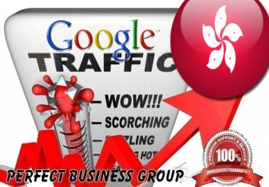 Organic traffic from Google.com.hk (Hongkong)