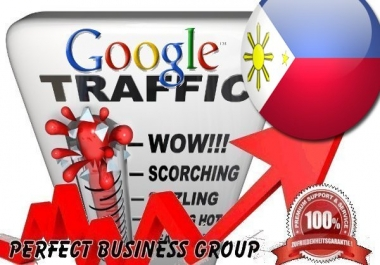 Organic traffic from Google.com.ph (Philippines) with your Keyword