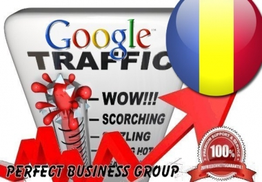 Organic traffic from Google.ro (Romania) with your Keyword
