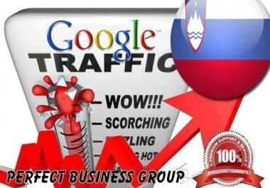 Organic traffic from Google.si (Slovenia) with your Keyword